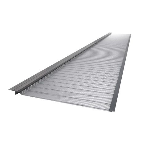 Stainless steel gutter protection