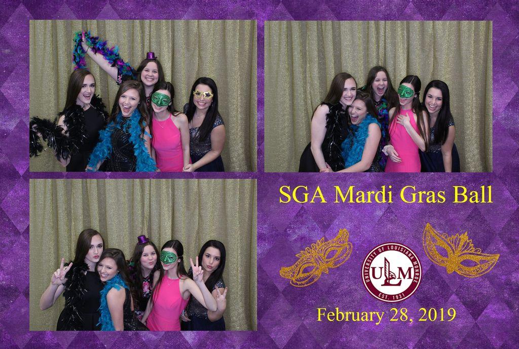 ULM Mardi Gras Ball