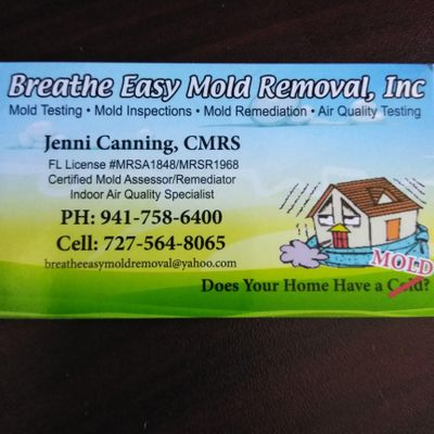 Avatar for Breathe Easy Mold Removal