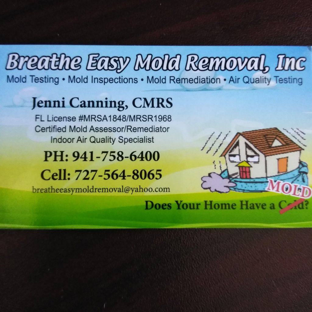 Breathe Easy Mold Removal