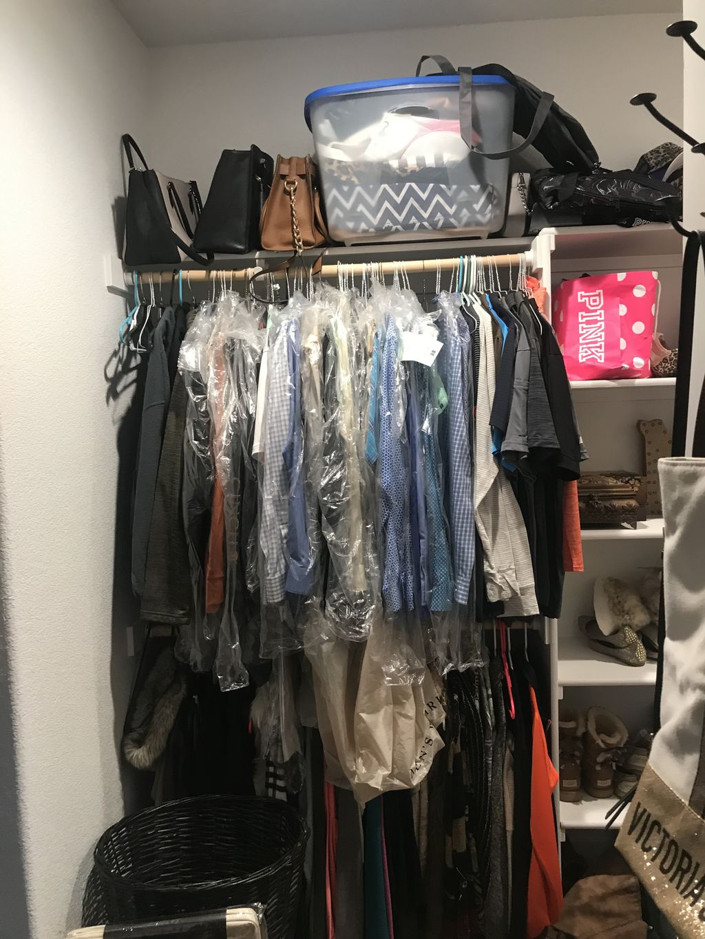 Pantry, Walk In Closet, and Full Bedroom Makeover