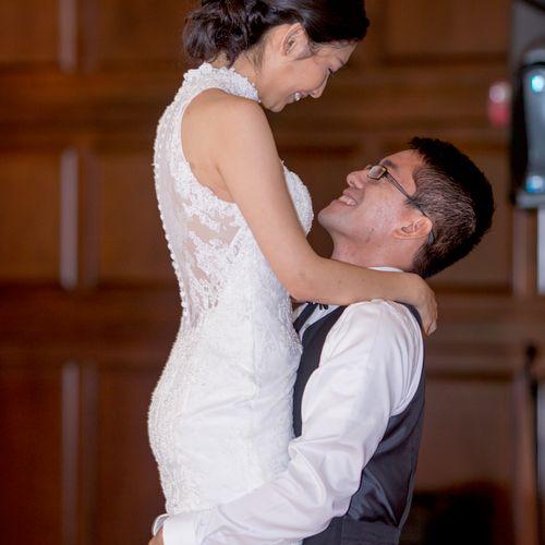 Ballroom Dream Wedding Couples