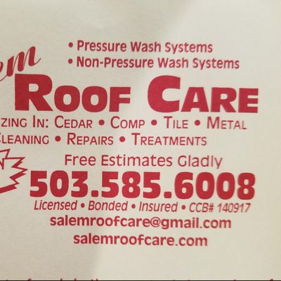 Avatar for Salem Roof Care Silverton, OR Thumbtack