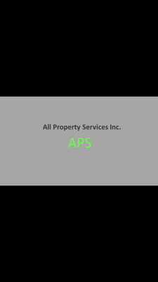 Avatar for All Property Services Inc.