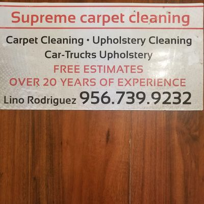 Avatar for Supreme carpet cleaning San Juan, TX Thumbtack