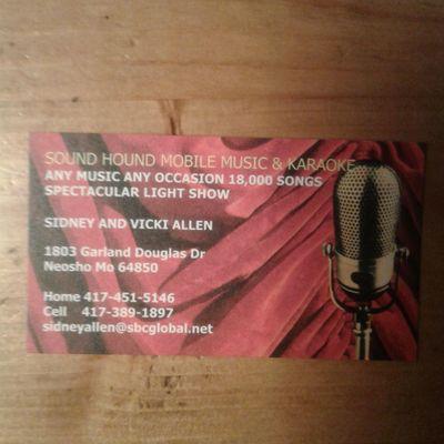Avatar for Sound Hound Mobile Music Neosho, MO Thumbtack