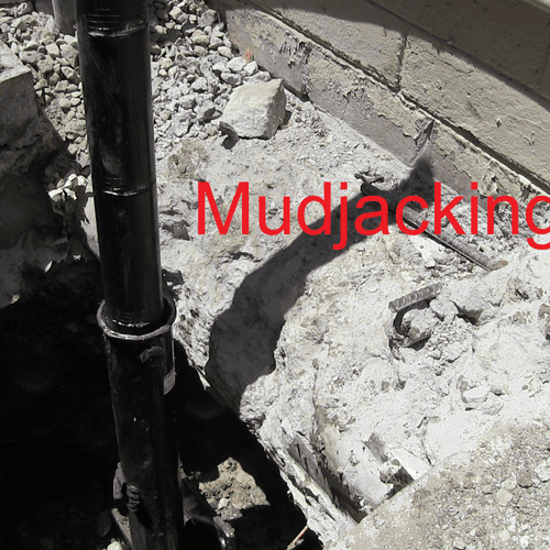 """Mudjacking Fail. Ram Jack to the rescue. Hence our motto, """"Don't do it twice. Do it right."""""""