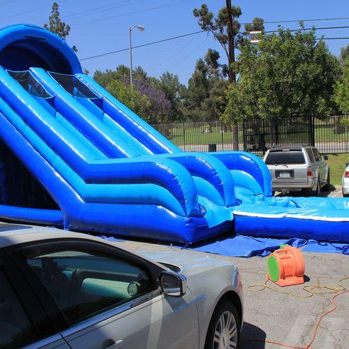 20 ft slip. for 4 hrs (325)