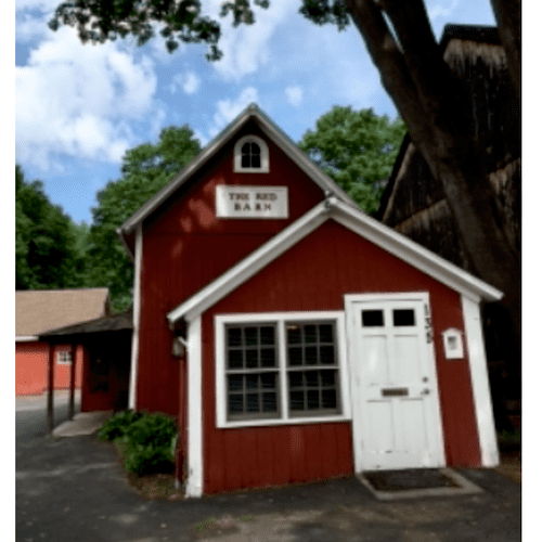 located in the Red Barn on Main Street in Old Wethersfield
