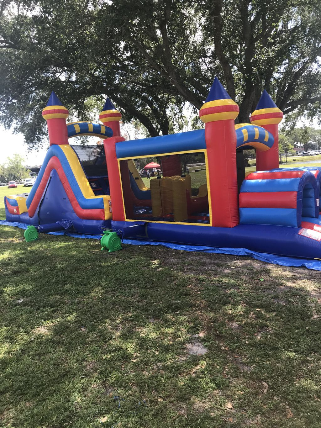 20ft Obstacle with Slide