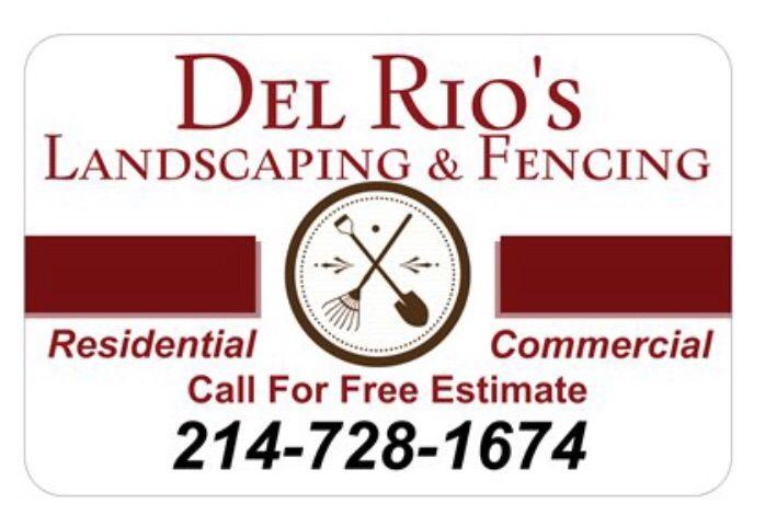 Del Rio's Landscaping & Fencing
