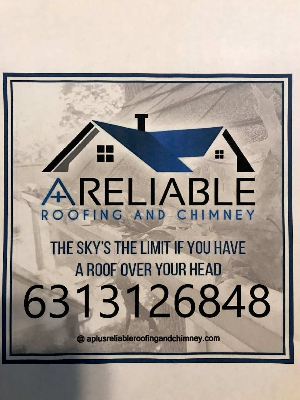 A+reliable roofing chimney siding