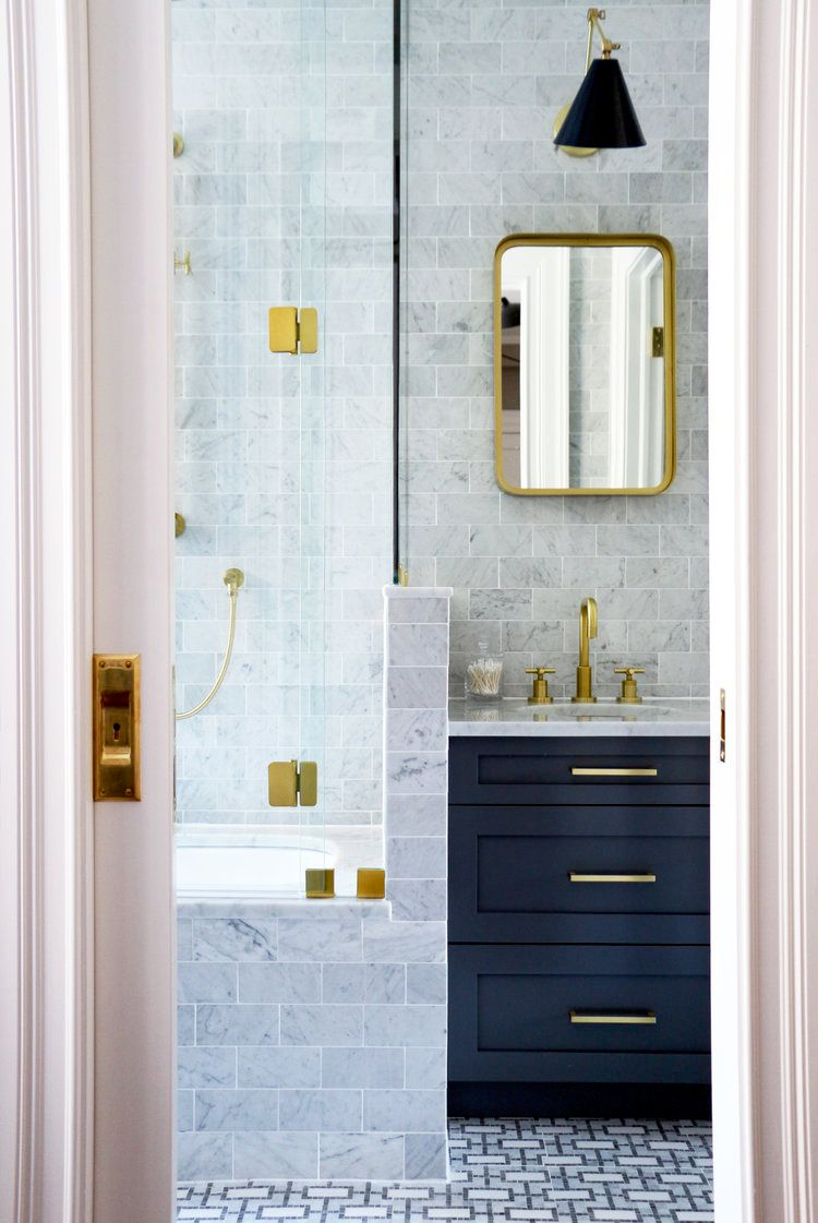 Glam Bathroom Renovation
