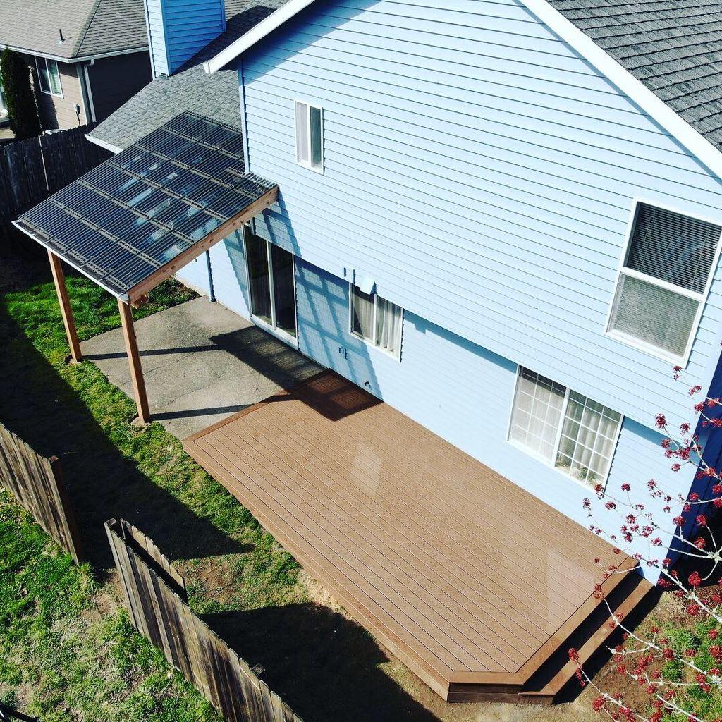 Composite Deck & Patio Cover