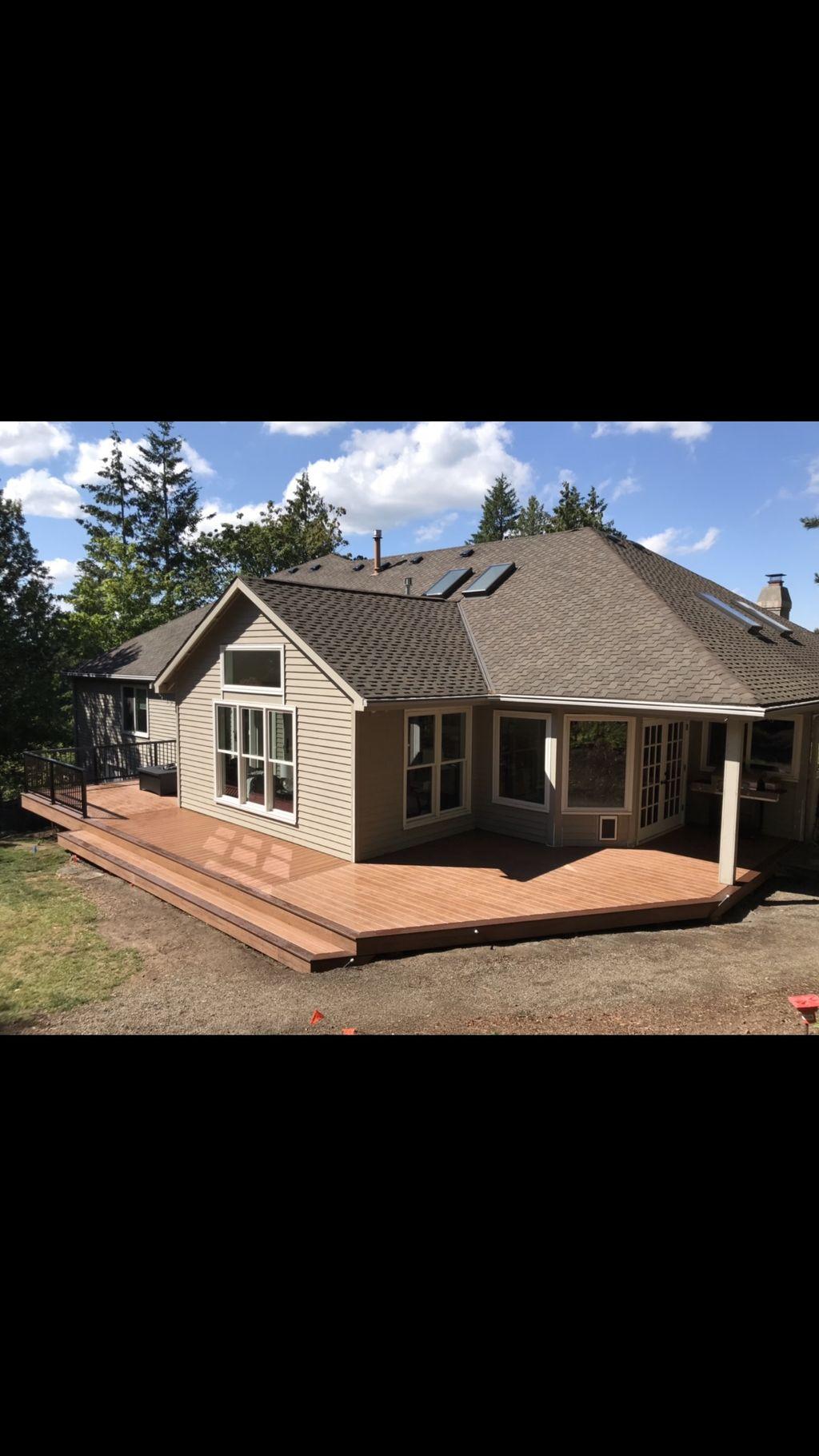Composite Deck Rebuild