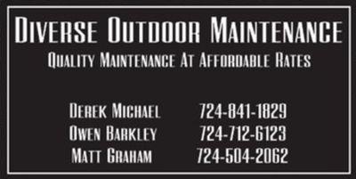 Avatar for Diverse outdoor maintenance Butler, PA Thumbtack
