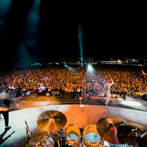 On stage with Residente_Cartagena,Colombia