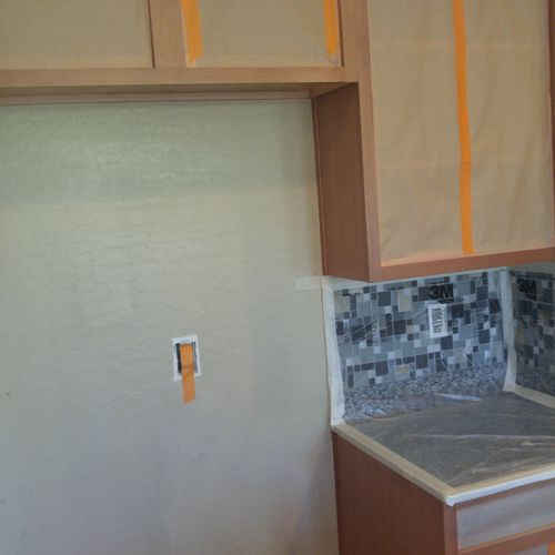 Home Cabinets Refinished