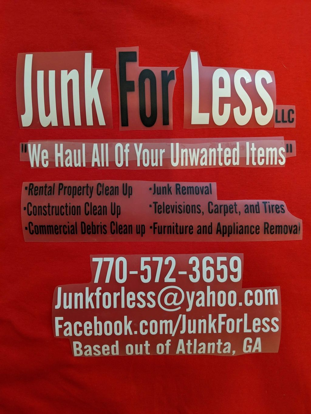 ♻️ Junk for less ♻️