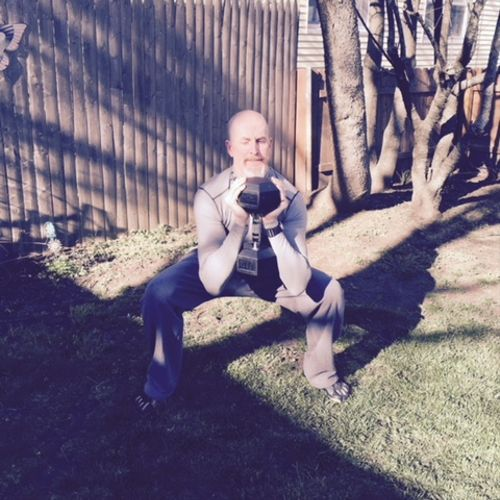 Goblet squat position
