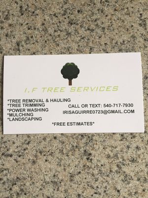 Avatar for I.F Tree Services Culpeper, VA Thumbtack