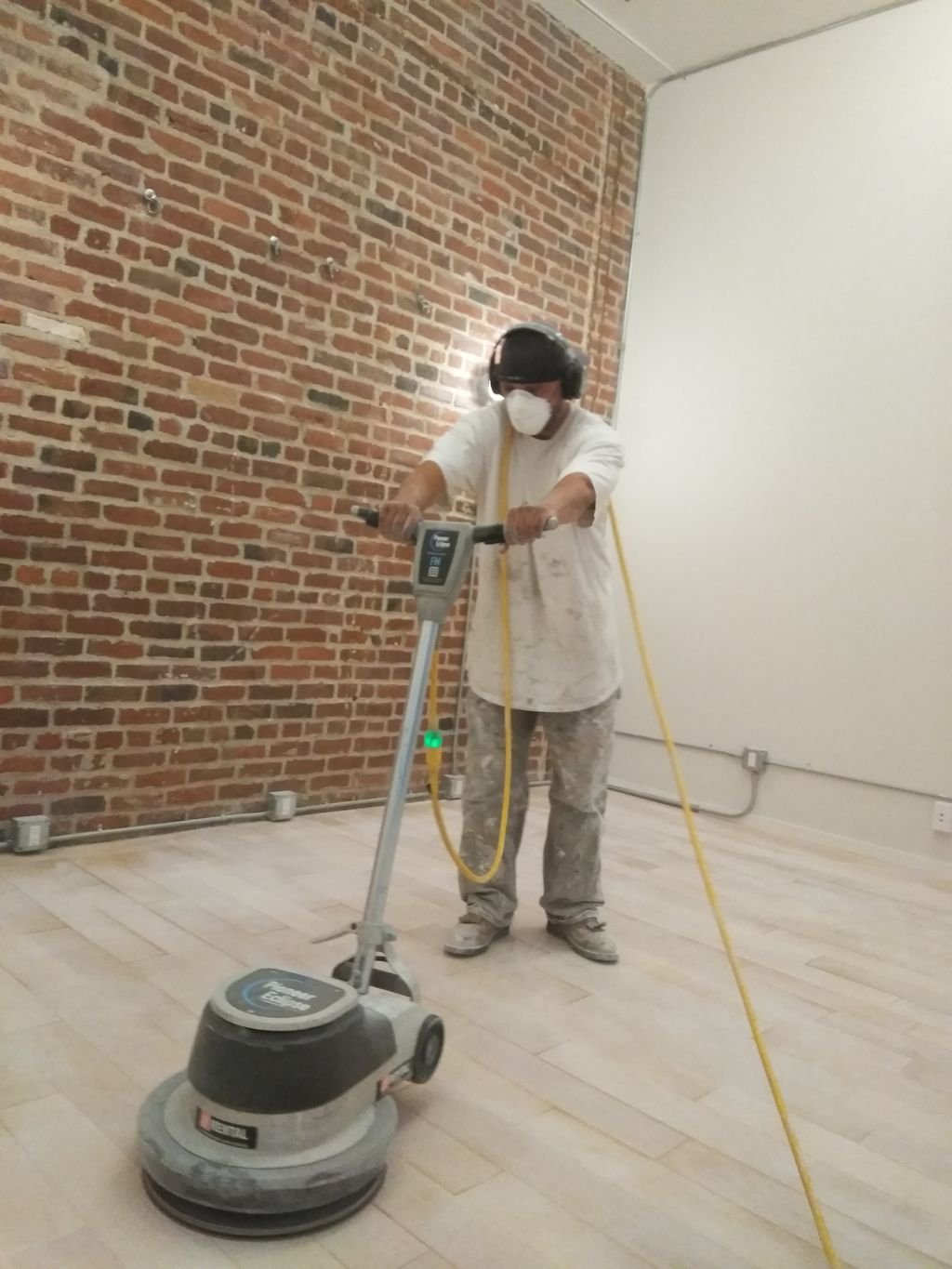 Floor refinishing and painting