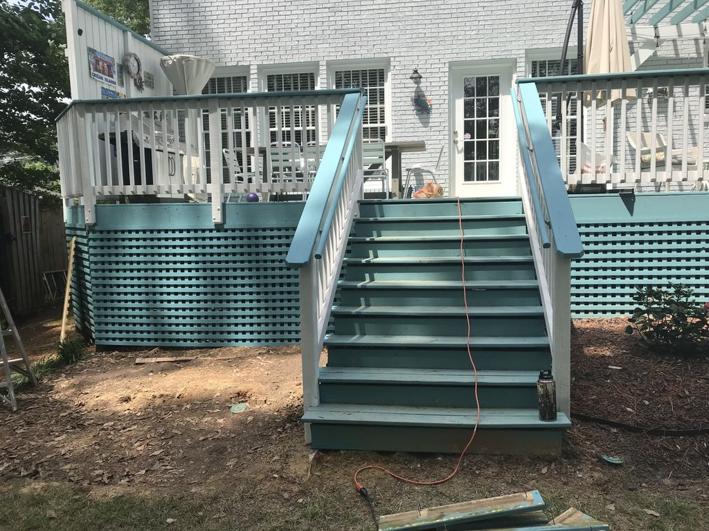 Reduced stair width from 14 ft to 5 ft