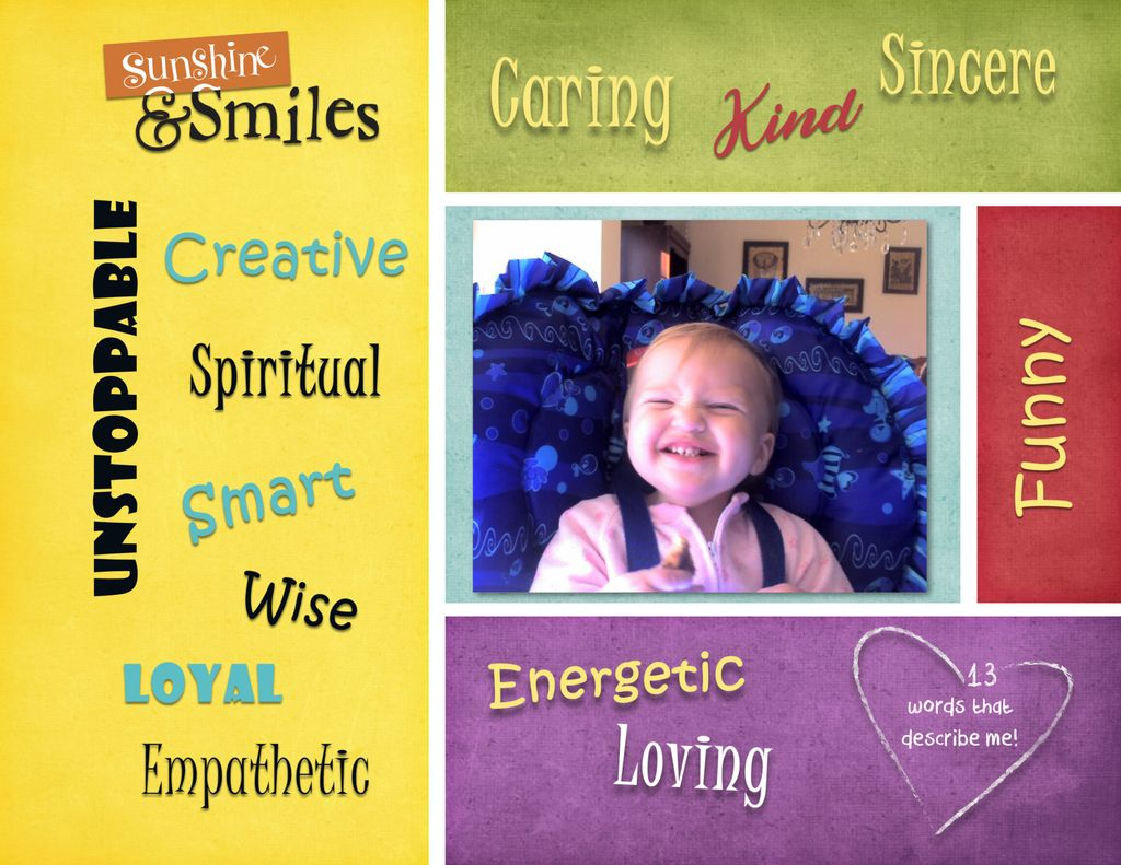 Sample Scrapbook Pages