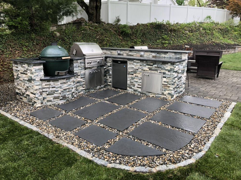 Custom Outdoor Kitchen- Ramsey 2019