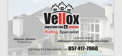 Avatar for Vellox Construction & Roofing East Weymouth, MA Thumbtack
