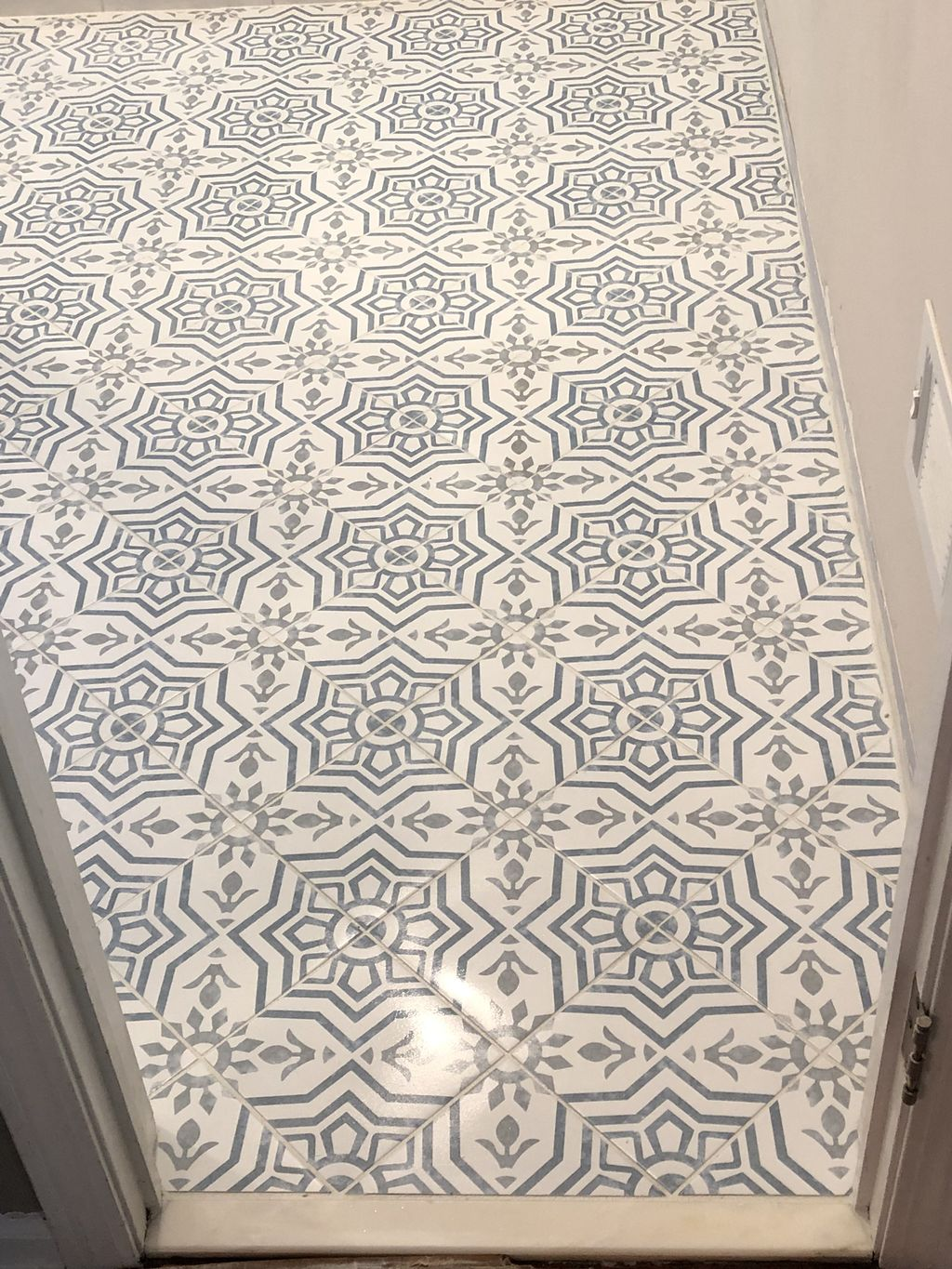 Mosaic Tile Floors and Wall