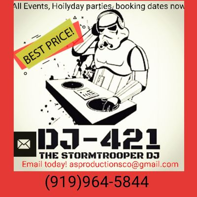 Avatar for Dj StormTrooper 421 Wendell, NC Thumbtack