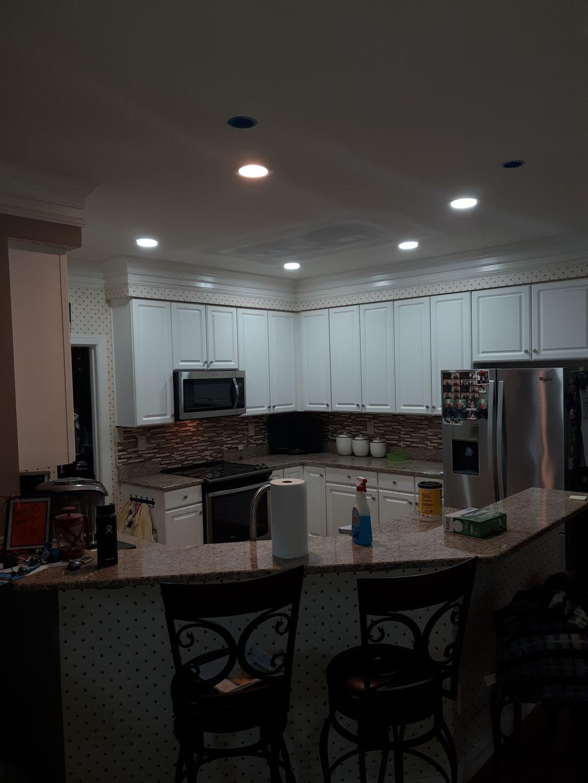 Kitchen Lighting Remodel