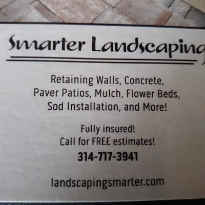 Avatar for Smarter Landscaping Fenton, MO Thumbtack