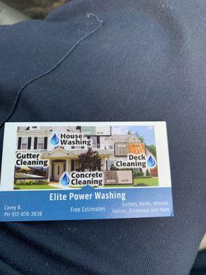 Avatar for Elite power washing Carrollton, TX Thumbtack
