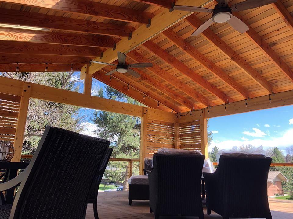 Littleton outdoor living space