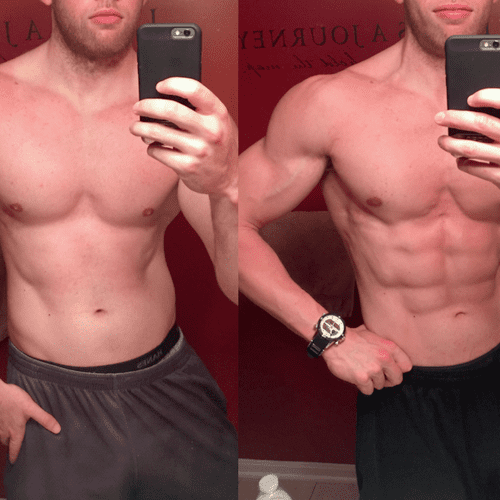 3 Month Transformation -20lbs