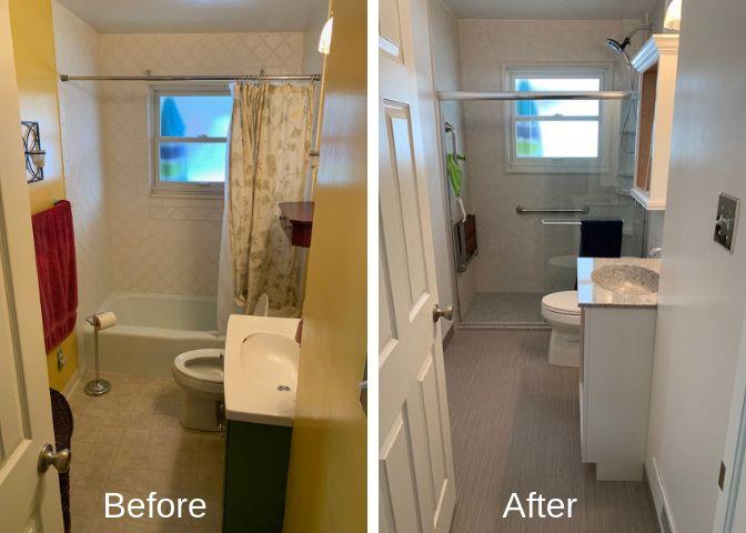 Update Old Bathroom