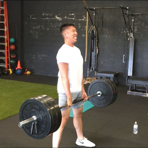 A personal record for Xav on dead lifts!