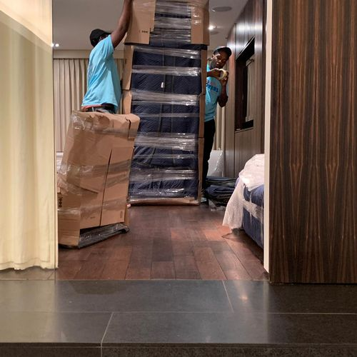 Double packing for Valuable furniture