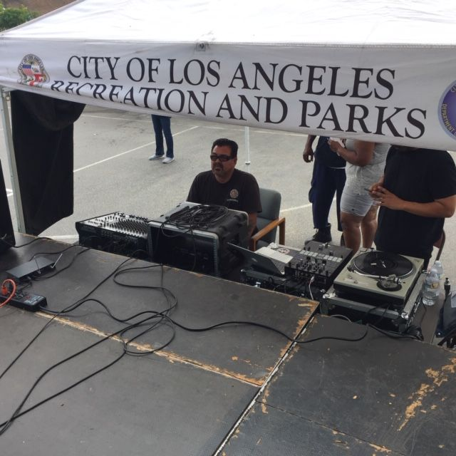 City of Los Angeles Christmas Event