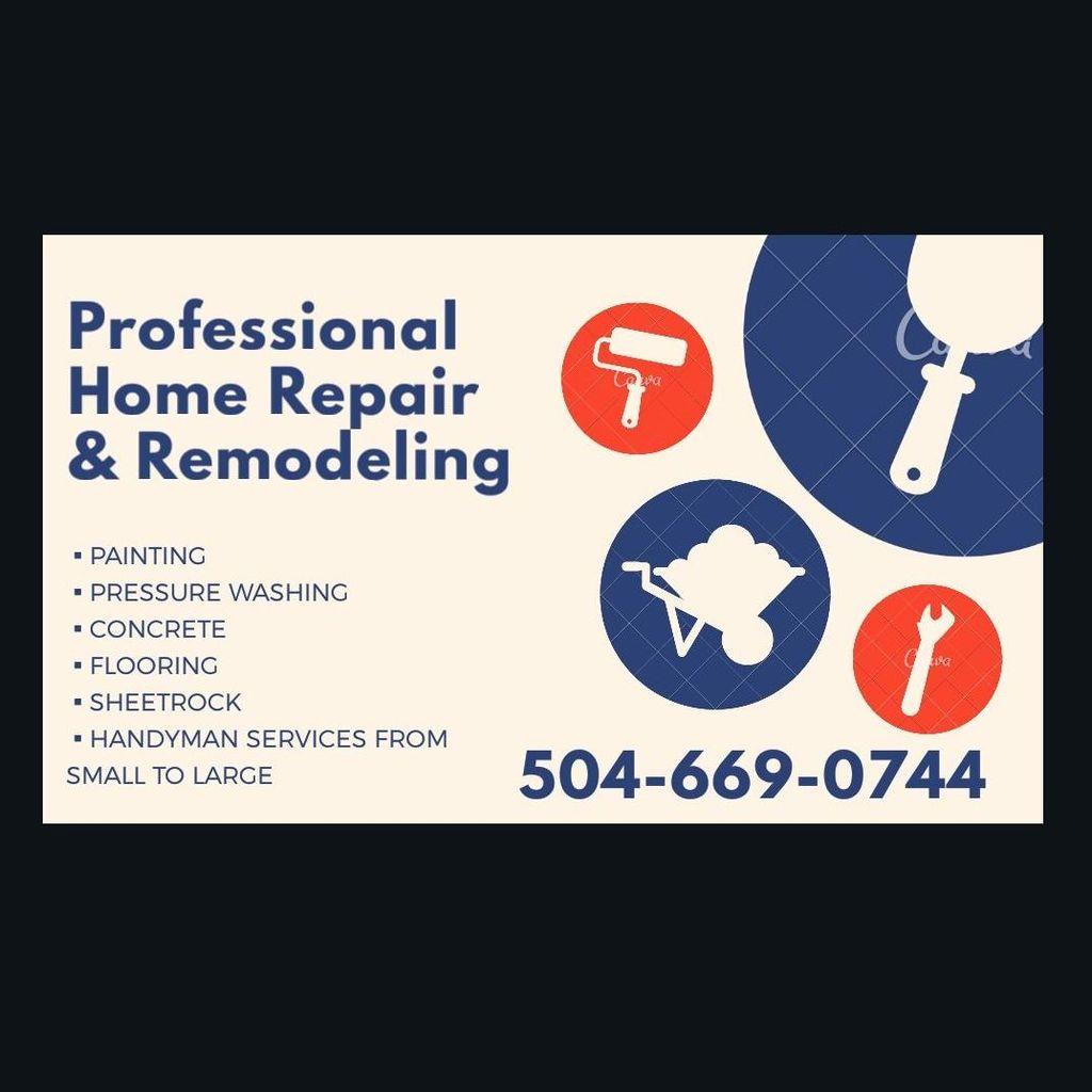 Professional Home Repair & Remodeling