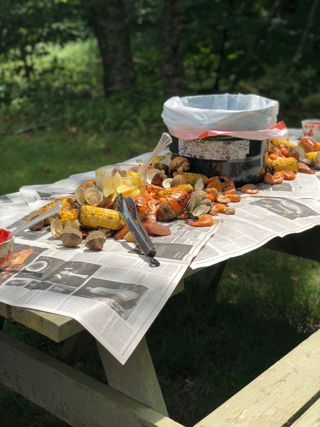 New Orleans Style Seafood Boil