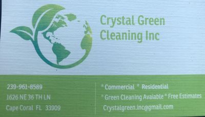 Avatar for Crystal Green Cleaning Inc