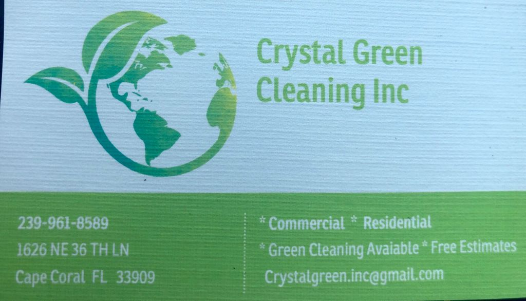 Crystal Green Cleaning Inc