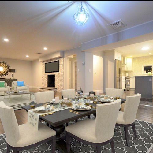 Hardwood Floors, Lighting, Fireplace