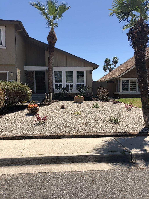 Front yard Relandscape