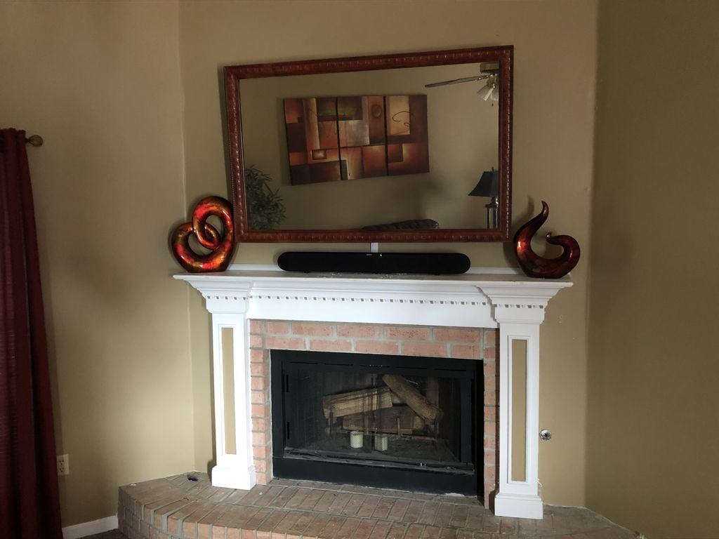 Two way mirror TV