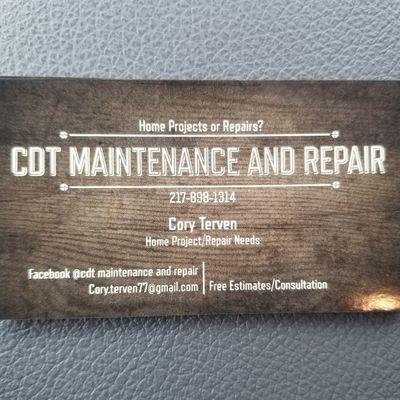 Avatar for CDT MAINTENANCE AND REPAIR Mahomet, IL Thumbtack