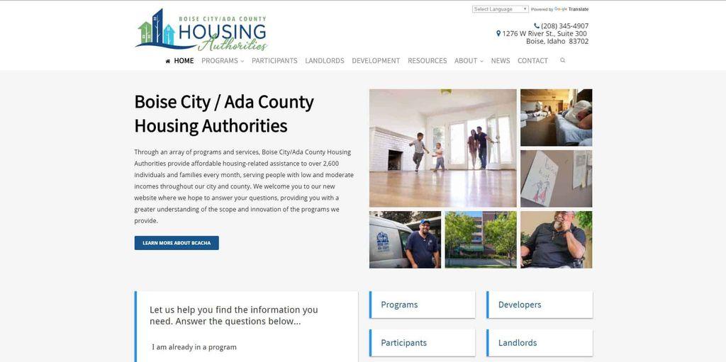 Boise City & Ada County Housing Authority